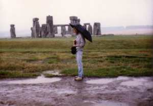Jim at Stonehenge 1985